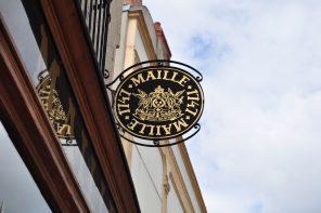 Maille mustard store in Dijon by Mardi Michels