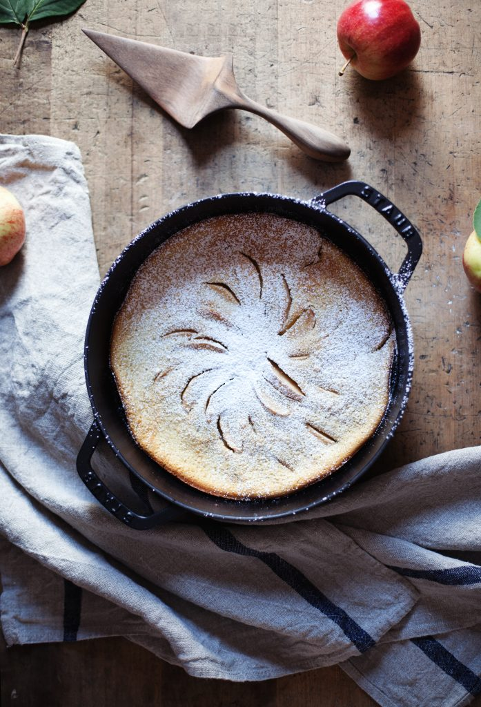 apple clafoutis xiv