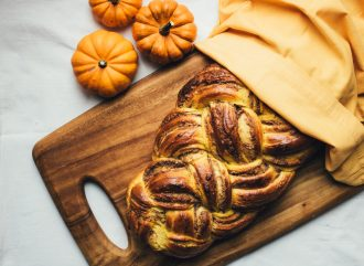 Pumpkin and Walnut Brioche