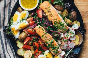 Seared Salmon Niçoise