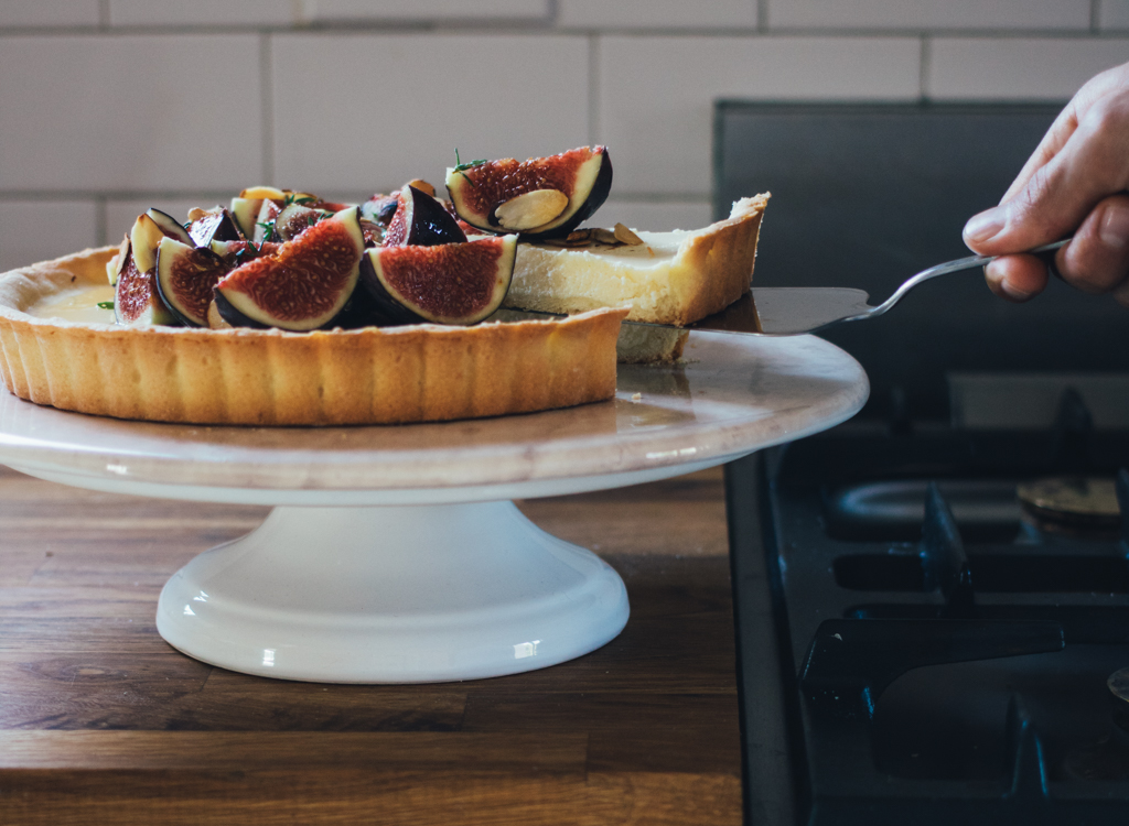Fresh Fig Cheesecake Tart