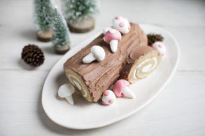Gingerbread Bûche de Noël