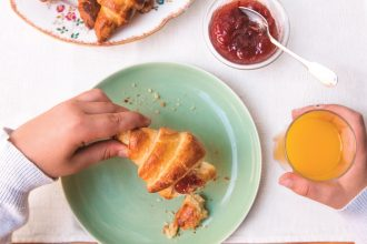 Quick croissants from In the French kitchen with kids by Mardi Michels Image © Kyla Zanardi