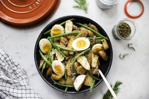 Warm Haricots Verts & Fingerling Potato Salad