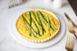 Spring Asparagus and Brie Tart