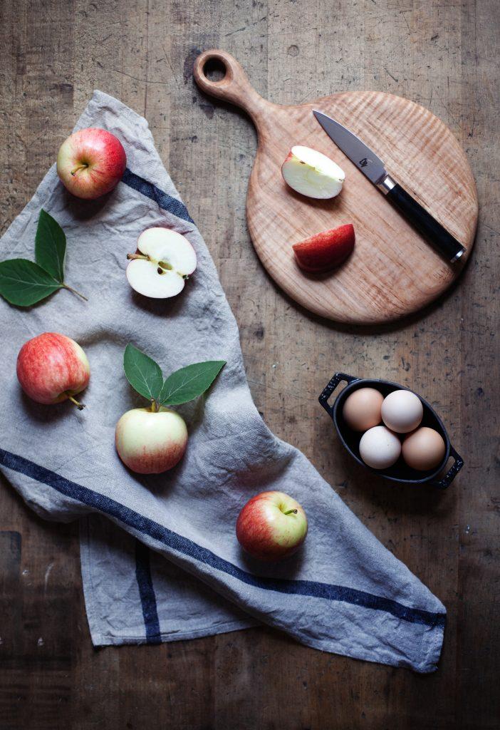 apple clafoutis v