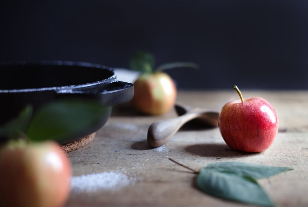 apple clafoutis viii