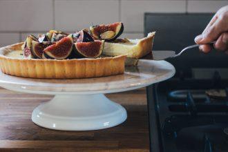 Fresh Fig Cheesecake Tart