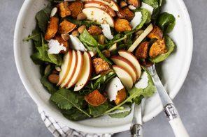 Autumn Sweet Potato & Apple Salad