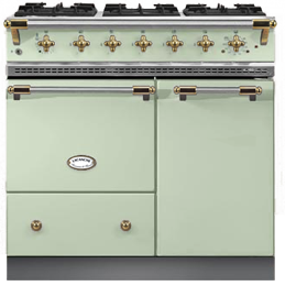 "Lacanche 36"" Beaune range - Limegreen color"