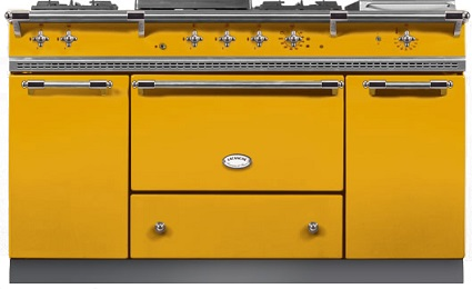 "60"" Lacanche Fontenay range - Provence Yellow color"