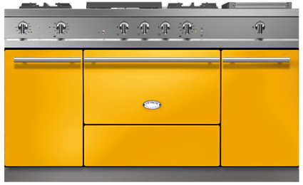 "60"" Lacanche Moderne Fontenay range - Provence Yellow color"