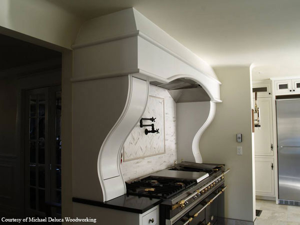 Custom hood fan enclosure