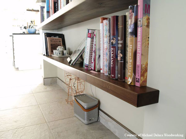 Custom-made book shelf