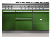 "55"" Lacanche Chagny 1400 range with a broiler oven"