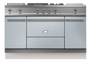 "60"" Citeaux range with two ovens and a warming cupboard"