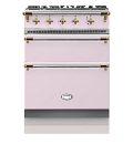 "28"" Rully dual-fuel range with two ovens"